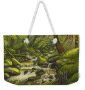 Brook In The Forest Weekender Tote Bag