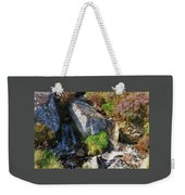 A Brook In The Wicklow Mountains, Ireland Weekender Tote Bag