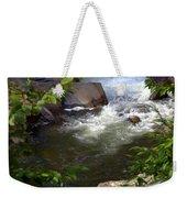 Brook Of Tranquility Weekender Tote Bag