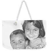 Brooke And Carter Weekender Tote Bag