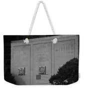 Brooklyn Battery Tunnel In Black And White Weekender Tote Bag