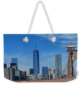 Brooklyn Bridge And Lower Manhattan Weekender Tote Bag