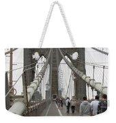 Brooklyn Bridge II Weekender Tote Bag
