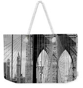 Brooklyn Bridge New York City Usa Weekender Tote Bag