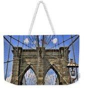 Brooklyn Bridge Ny Weekender Tote Bag