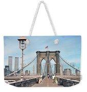 Brooklyn Bridge - New York Weekender Tote Bag