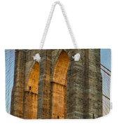 Brooklyn Bridge Tower Weekender Tote Bag