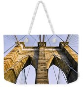Brooklyn Bridge01 Weekender Tote Bag