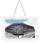 Brooklyn - New York - Flatbush - Ebbets Field - 1928 Weekender Tote Bag
