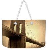 Brooklyn Nostalgia II Weekender Tote Bag