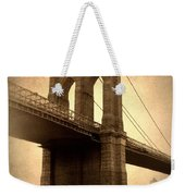 Brooklyn Nostalgia Weekender Tote Bag