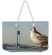 Brooklyn Seagull Weekender Tote Bag
