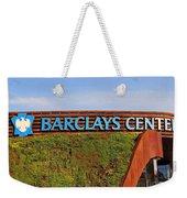 Brooklyn's Barclays Weekender Tote Bag