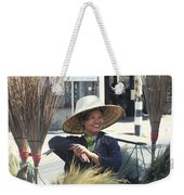 Broom Seller  Weekender Tote Bag