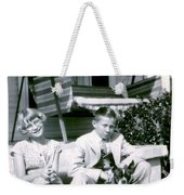 Brother And Sister Weekender Tote Bag