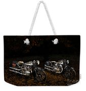 Brough Superior Ss100 And 680 Weekender Tote Bag