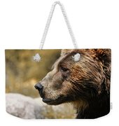 Brown Bear Golden Morning Weekender Tote Bag