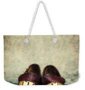 Brown Children Shoes Weekender Tote Bag