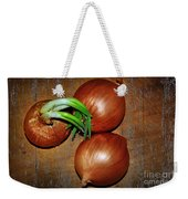 Brown Onions Weekender Tote Bag