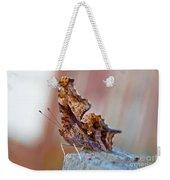 Brown Paper Moth Weekender Tote Bag