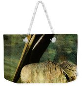 Brown Pelican Beauty Weekender Tote Bag
