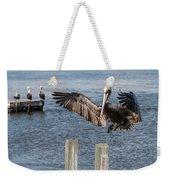 Brown Pelican Touchdown Weekender Tote Bag