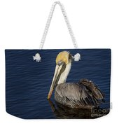 Brown  Pelican Weekender Tote Bag