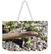 Brown Snake Weekender Tote Bag