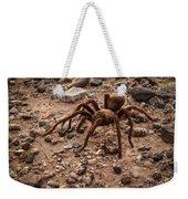 Brown Tarantula Weekender Tote Bag