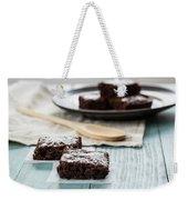 Brownies With A Wood Spoon Kitchen Art Weekender Tote Bag