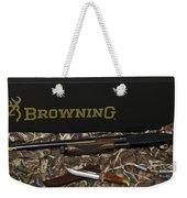 Browning Bps Shotgun  Weekender Tote Bag
