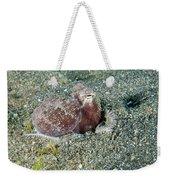 Brownstripe Octopus Burying Itself Weekender Tote Bag