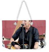 Bruce Springsteen 12 Weekender Tote Bag