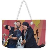 Bruce Springsteen 9 Weekender Tote Bag