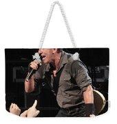 Musician Bruce Springsteen Weekender Tote Bag