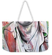 Bruce Springsteen Weekender Tote Bag by Joshua Morton