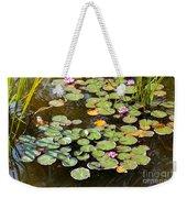 Bruges Lily Pond Weekender Tote Bag