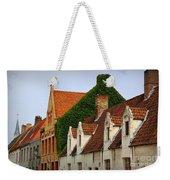 Bruges Rooftops Weekender Tote Bag