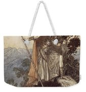 Brunnhilde From The Rhinegold And The Valkyrie Weekender Tote Bag by Arthur Rackham