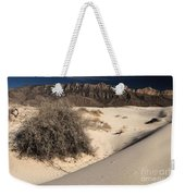 Brush In The Dunes Weekender Tote Bag