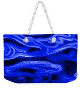 Brush Strokes In Blue Weekender Tote Bag