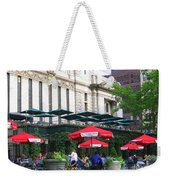 Bryant Park At Noon Weekender Tote Bag by Dora Sofia Caputo Photographic Art and Design