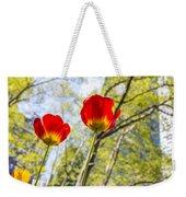 Bryant Park Tulips New York  Weekender Tote Bag