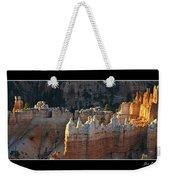 Bryce Canyon At Sunrise Weekender Tote Bag