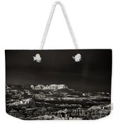 Bryce Canyon Formations In Black And White Weekender Tote Bag