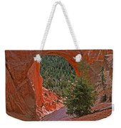 Bryce Canyon Natural Bridge And Tree Weekender Tote Bag