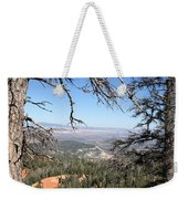 Bryce Canyon Overlook With Dead Trees Weekender Tote Bag