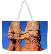 Bryce Canyon Rock Formation Weekender Tote Bag