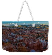 A Panorama Bryce Canyon Sunrise Weekender Tote Bag