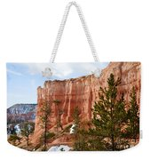 Bryce Curved Formation Wall Weekender Tote Bag